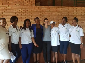 Some of the learners and the municipality representative